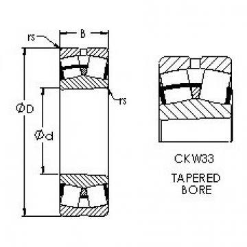 AST 23232CKW33 spherical roller bearings