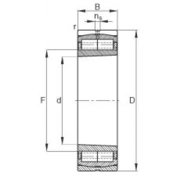 160 mm x 290 mm x 104 mm  FAG F-804461.ZL-K-C3 cylindrical roller bearings