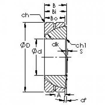AST GAC30S plain bearings