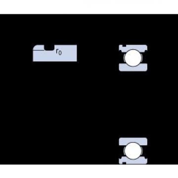 17 mm x 40 mm x 12 mm  SKF 6203 N deep groove ball bearings