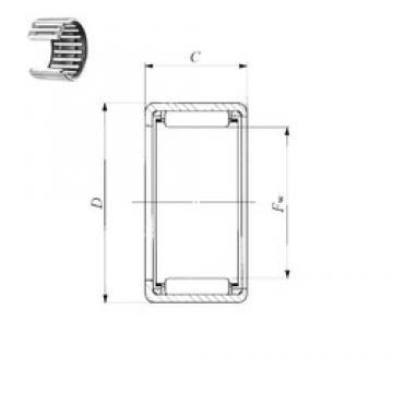 IKO TLA 1516 Z needle roller bearings