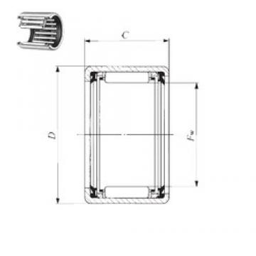 IKO TLA 1616 UU needle roller bearings