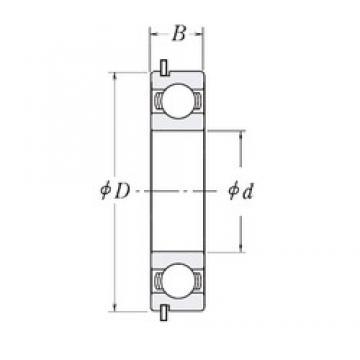 160 mm x 220 mm x 28 mm  CYSD 6932NR deep groove ball bearings