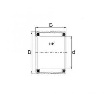 ZEN HK1516 needle roller bearings