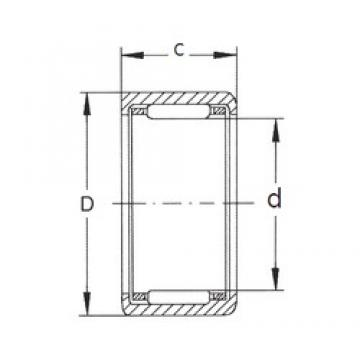 FBJ HK1616 needle roller bearings