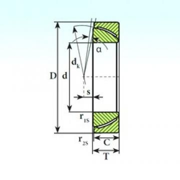 ISB GAC 30 SP plain bearings
