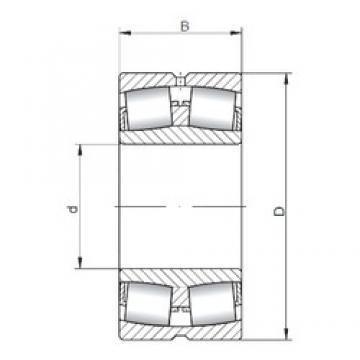 560 mm x 920 mm x 280 mm  Loyal 231/560 CW33 spherical roller bearings