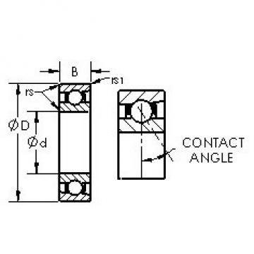 AST 71932AC angular contact ball bearings