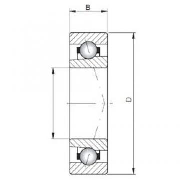 Loyal 71932 ATBP4 angular contact ball bearings