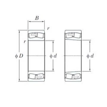 160 mm x 290 mm x 104 mm  KOYO 23232RHAK spherical roller bearings