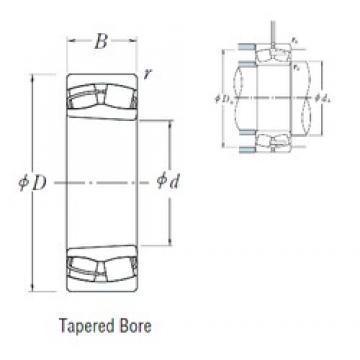160 mm x 290 mm x 104 mm  NSK 23232CKE4 spherical roller bearings