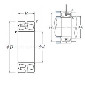 560 mm x 920 mm x 280 mm  NSK 231/560CAE4 spherical roller bearings