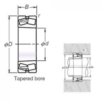 160 mm x 290 mm x 104 mm  NSK TL23232CKE4 spherical roller bearings