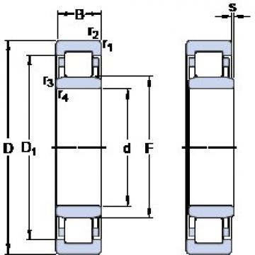 80 mm x 140 mm x 26 mm  SKF NU 216 ECJ thrust ball bearings